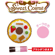 Sweets Cosme カップケーキ大型チークカラー シュガーピンク