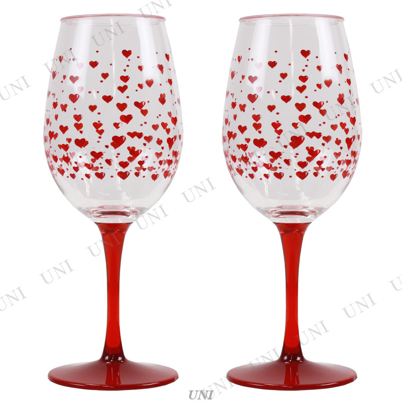 Acrylic Wine Set - RED HOT