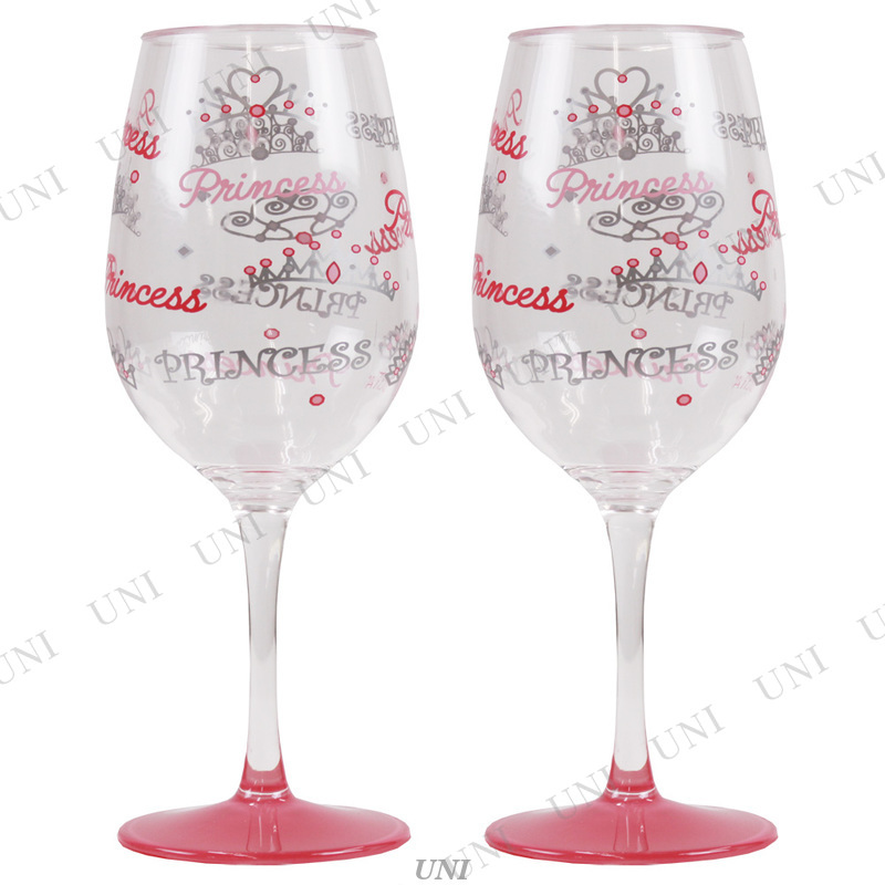 Acrylic Wine Set - Princess