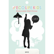 【SALE】ウォールステッカー Eco Life Kids OFF1