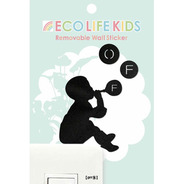 【SALE】ウォールステッカー Eco Life Kids OFF3