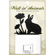 【SALE】ウォールステッカー Wall In Animals うさぎ1