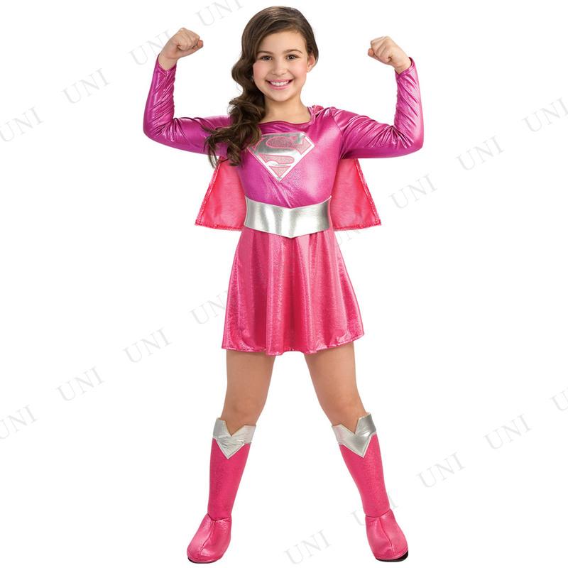 30ee379955d908 本店】【パーティワールド】ルービーズ(Rubie's) 子ども用ピンクスーパー ...