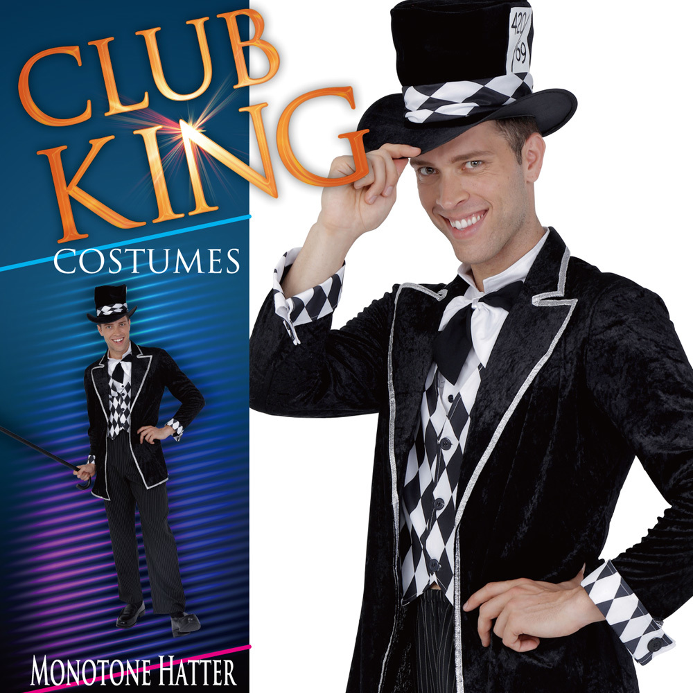 CLUB KING Monotone Hatter(モノトーンハッター)
