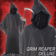 カリフォルニアコスチューム(California Costumes) GRIM REAPER DELUXE / ADULT