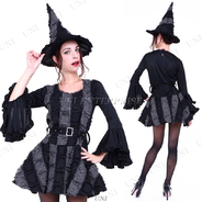 【SALE】CLUB QUEEN Gothic Frill Witch(ゴシックフリルウィッチ)