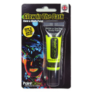 GLOW IN THE DARK グローインザダーク フェイス&ボディペイント イエロー [Glow In The Dark Face & Body Paint (Yellow)]