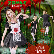 【SALE】ZOMBIE COLLECTION Zombie Maid(ゾンビメイド)