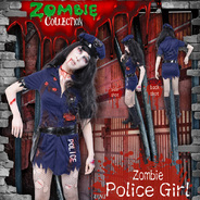 ZOMBIE COLLECTION Zombie Police Girl(ゾンビポリスガール)