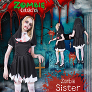 【SALE】ZOMBIE COLLECTION Zombie Sister(ゾンビシスター)