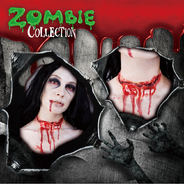 ZOMBIE COLLECTION FXSCAR Cut Throat(切られた喉)