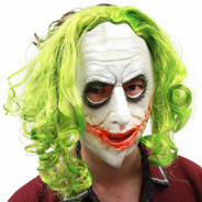 rubie's(ルービーズ) ザ・ジョーカー マスク(ヘアー付) 大人用(GREEN/BROWN) [4526 The Joker Adult 3/4 Mask With Hair]