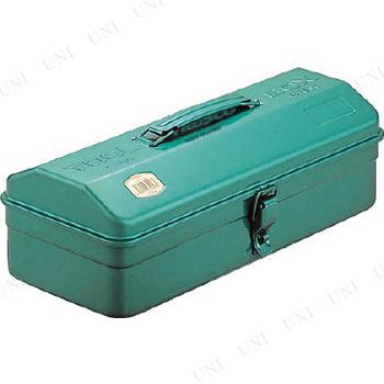 【取寄品】 TRUSCO 山型工具箱 373X164X124 グリーン Y-350GN