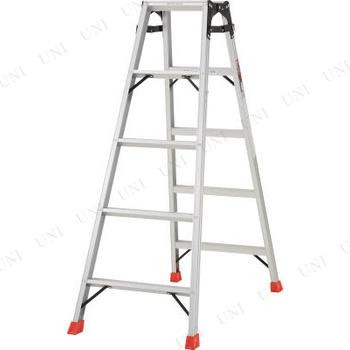 【取寄品】 TRUSCO はしご兼用脚立 アルミ合金製・脚カバー付 高さ1.40m