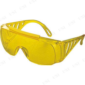 【取寄品】 TRUSCO 一眼型サイド付セーフティグラス イエロー
