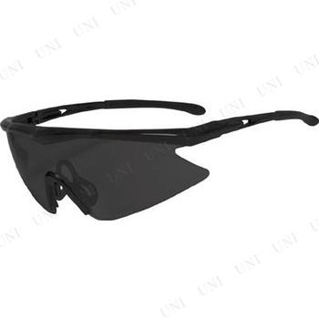 【取寄品】 TRUSCO 一眼型安全メガネ スポーツタイプ フレームブラック レンズグレー