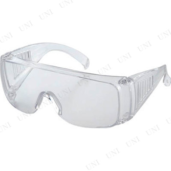 【取寄品】 TRUSCO 一眼型セーフティグラス レンズ透明