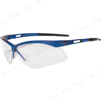 【取寄品】 TRUSCO 二眼型セーフティグラス フレームブルー