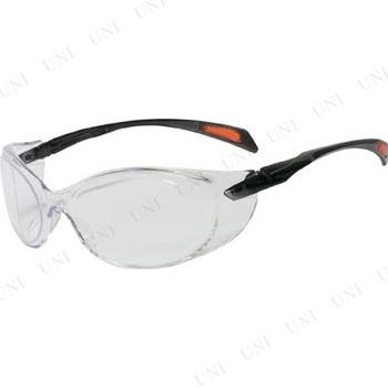 【取寄品】 TRUSCO 二眼型セーフティグラス ゴーグルタイプ レンズクリア