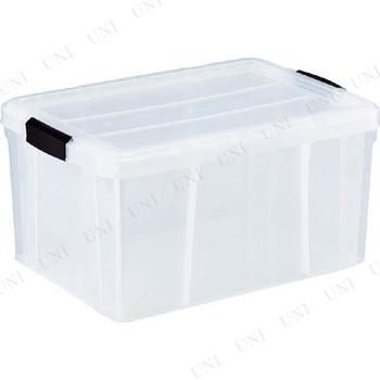 【取寄品】 TRUSCO クリアライトボックス 35L 透明