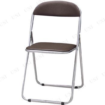 【取寄品】 TRUSCO 折りたたみパイプ椅子 ウレタンレザーシート貼り ブルー