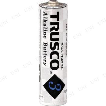 【取寄品】 TRUSCO アルカリ乾電池 単3 4個入