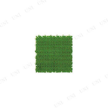 【取寄品】 [6点セット] ワタナベ 人工芝 システムターフR 30cm×30cm グリーン