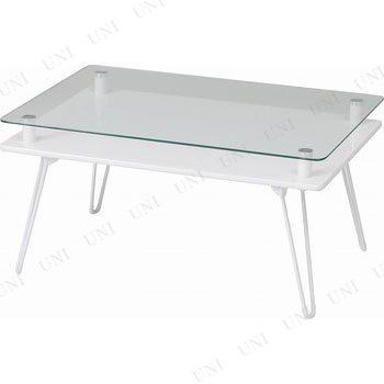 【取寄品】 ディスプレイテーブル クラリス ホワイト