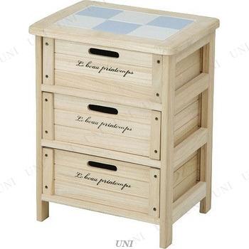 【取寄品】 木製3段ボックス