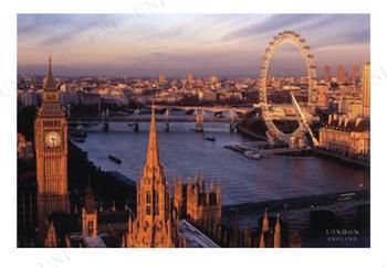 London、England ポスター