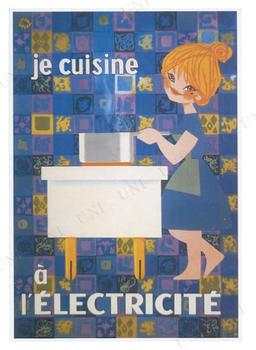 【取寄品】 Je Cuisine L'Electricite ポスター