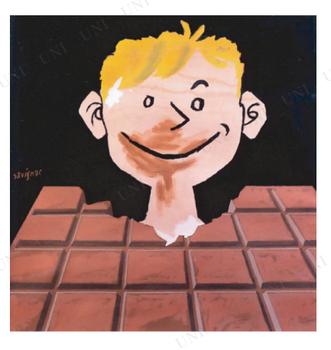 【取寄品】 SAV-18 chocolat tobler ポスター (68×68cm)