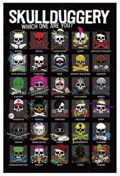 【取寄品】 Skullduggery ポスター