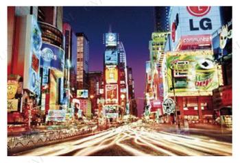 New York Times Square ポスター