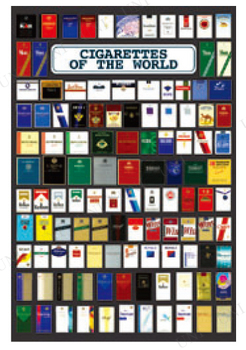 世界のタバコ ポスター