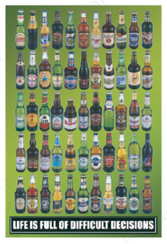 BEERS OF THE WORLD ポスター