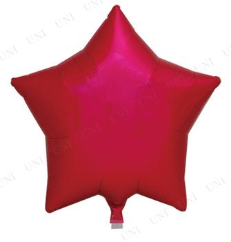 【取寄品】 [5点セット] アイブレックスバルーン スタ-15インチ メタリックレッド 1枚/袋