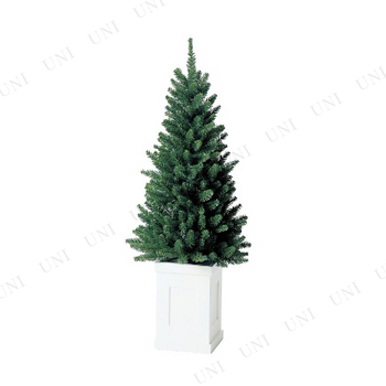 【取寄品】 クリスマスツリー M.コンテナスリムツリー(138cm)