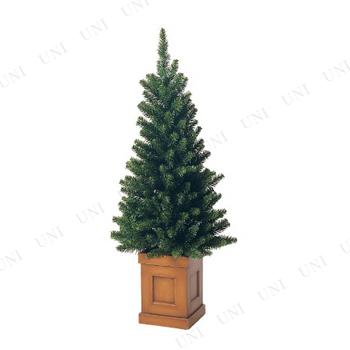 【取寄品】 クリスマスツリー S.コンテナスリムツリー(111cm)