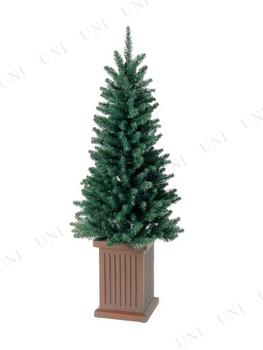 【取寄品】 クリスマスツリー M.コンテナスリムツリー(135cm)