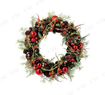 【取寄品】 クリスマスミックスリース(L・41cm)