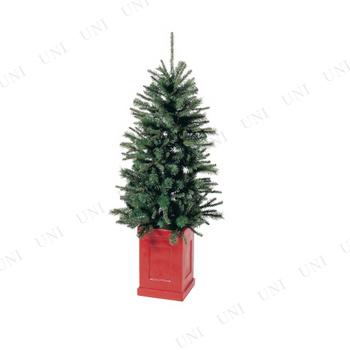 【取寄品】 クリスマスツリー コンテナスリムツリー(140cm)