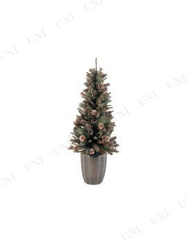 【取寄品】 クリスマスツリー ブラウンツイッグ&パインコーンツリー(100cm)