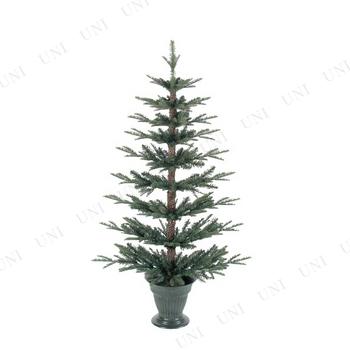 【取寄品】 クリスマスツリー 124cmミックスパインフラットツリー
