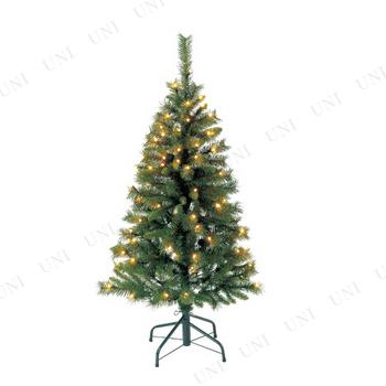 【取寄品】 クリスマスツリー 120cmノーブルツリー S(80球ライト付)