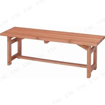 【取寄品】 木製ベンチ120 SD09-1054