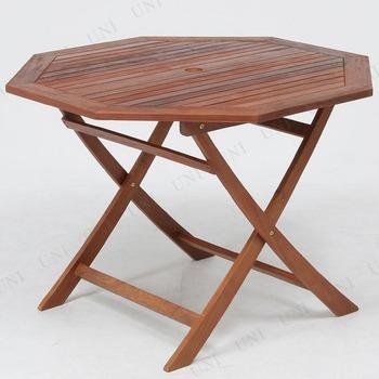 【取寄品】 八角テーブル 110cm  GT05FB
