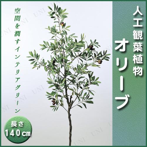 【取寄品】 人工観葉植物 オリーブ 140cm