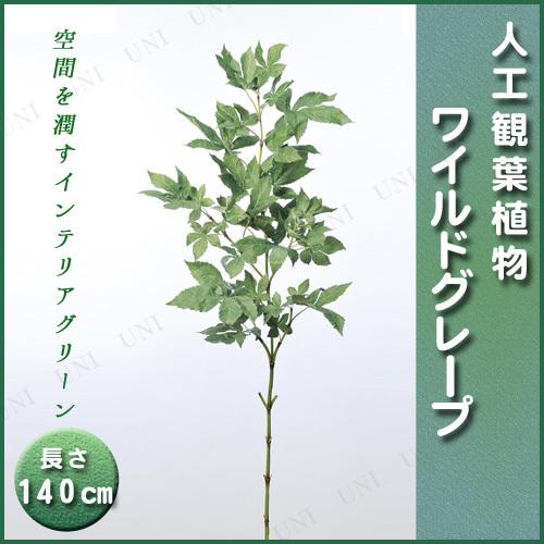 【取寄品】 人工観葉植物 ワイルドグレープ 140cm