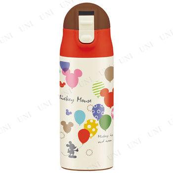 【取寄品】 超軽量ワンプッシュステンレスボトル ミッキーマウス バルーン(ベビー